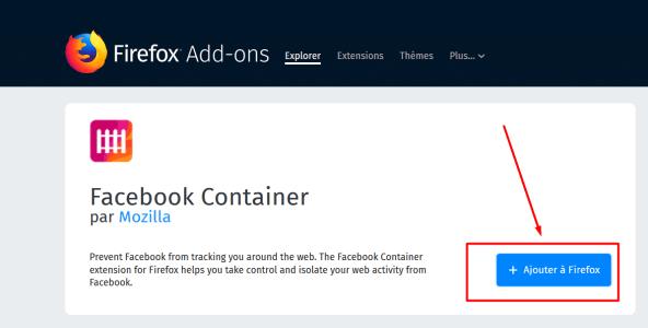 أضافة جديدة للفيس بوك خاصة بمتصفح فايرفوكس