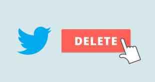حذف جميع التغريدات علي تويتر دفعة واحدة من الهاتف والكمبيوتر أيضاً