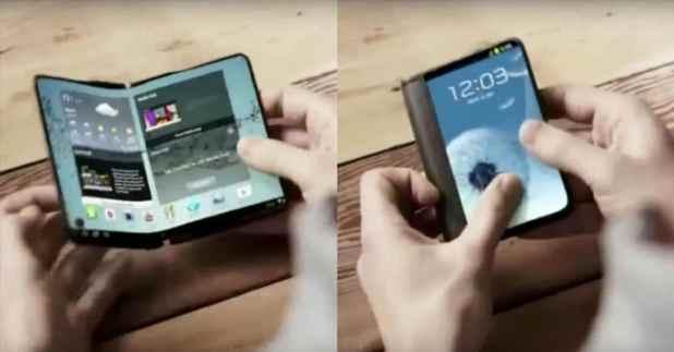 كل المعلومات حول هاتف Galaxy X أول هاتف قابل للطي من سامسونج