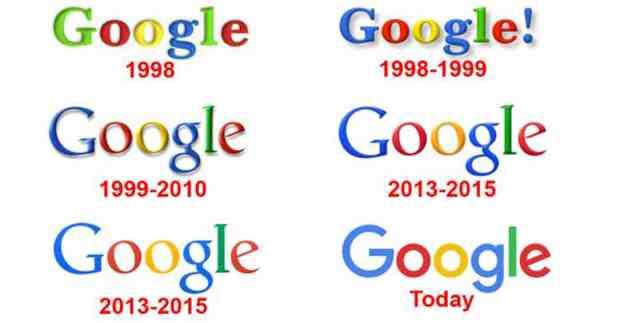 تعرف علي تاريخ شعار Google من البداية عام 1998 وحتي الشعار الموجود الآن