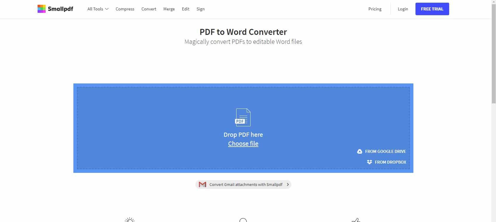 شرح كيفية إزالة العلامة المائية من ملف Pdf باستخدام موقع Small Pdf