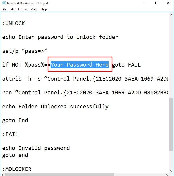 كيفية قفل الملفات برقم سري ويندوز 10 بدون برامج بخطوات سهله