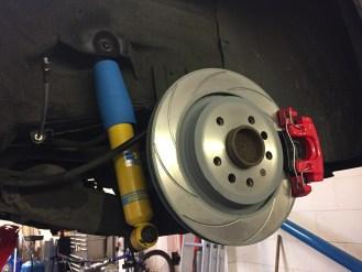 292mm Rear Brake Kit B8 Damper