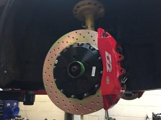 D2 6 Pot 356mm Brake Kit