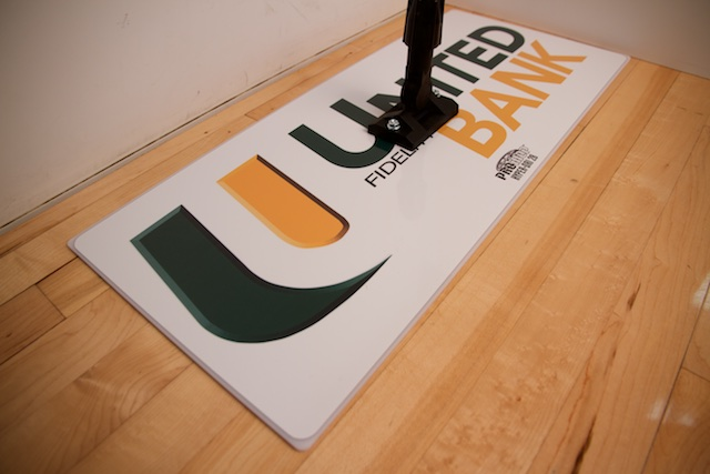 UNITED BANK - PROMOP HYPER-DRI 28 CUSTOMIZED BASKETBALL/VOLLEYBALL MOP - WITH CUSTOM LOGO AND TEAM COLORS