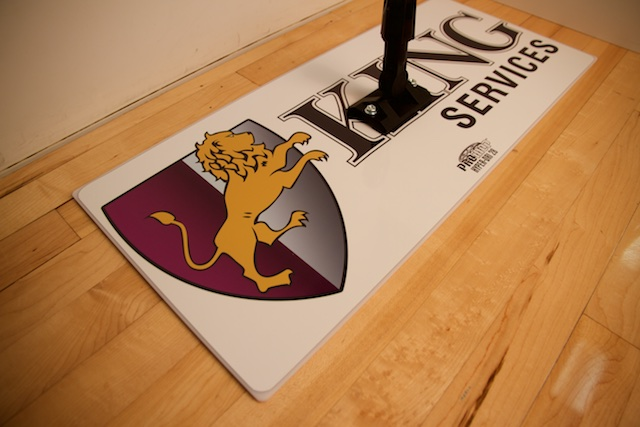 KING - PROMOP HYPER-DRI 28 CUSTOMIZED BASKETBALL/VOLLEYBALL MOP - WITH CUSTOM LOGO AND TEAM COLORS
