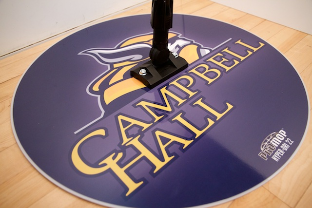 CAMPBELL HALL - HYPER-DRI 22 ROUND BASKETBALL/VOLLEYBALL SWEAT MOP