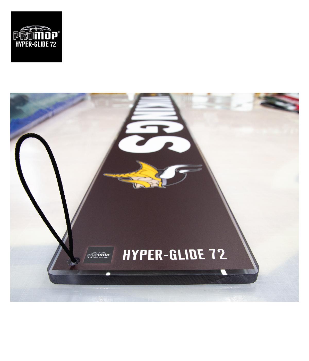 PROMOP HYPER-GLIDE 72 BASKETBALL VOLLEYBALL GYM FLOOR MICROFIBER MOP