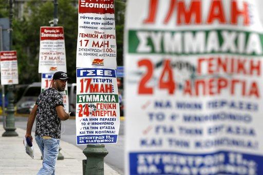 Greek Seamen Extend Strike