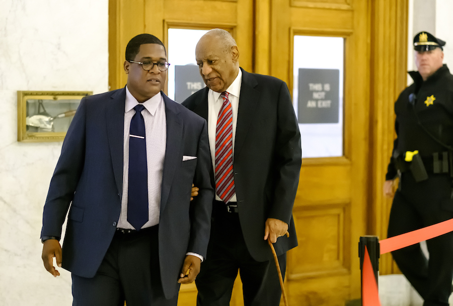 Accuser gives emotional testimony in Cosby trial