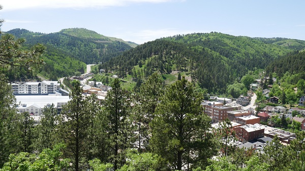 Deadwood from above. (Photo by Chris Marshall/CNS)