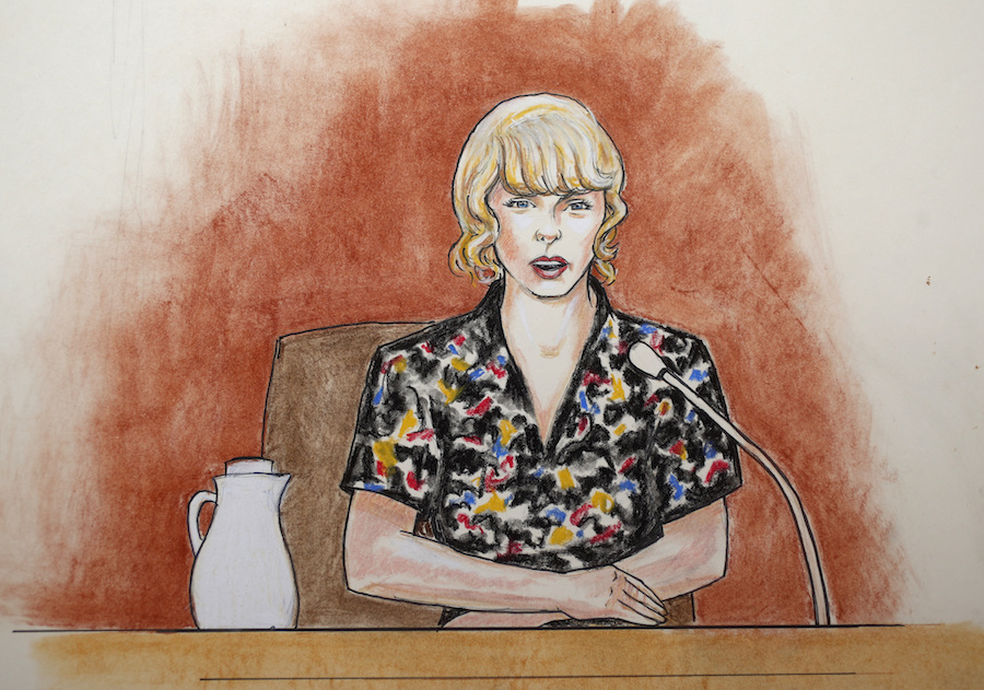 Taylor's groping case: Judge ruled out the former DJ