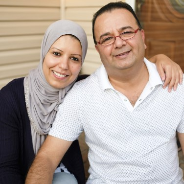 Ghassan and Nadia Alasaad are a married couple who live in Massachusetts, where he is a limousine driver and she is a nursing student. (Courthouse News Service via Electronic Frontier Foundation)