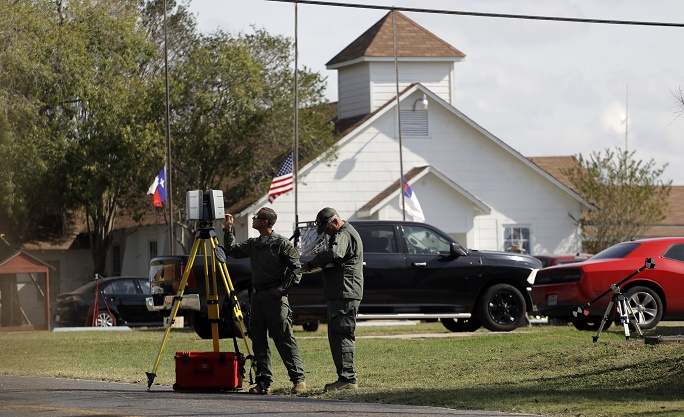 Federal Bureau of Investigation  can't access Texas shooter's locked phone
