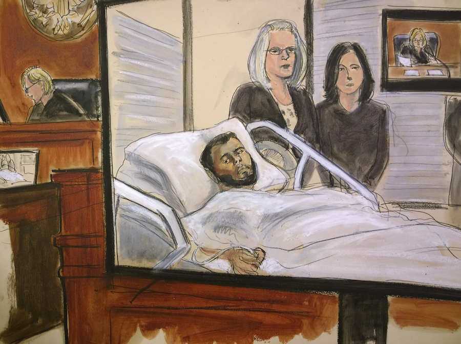 US: New York bomb attack suspect indicted on 6 counts