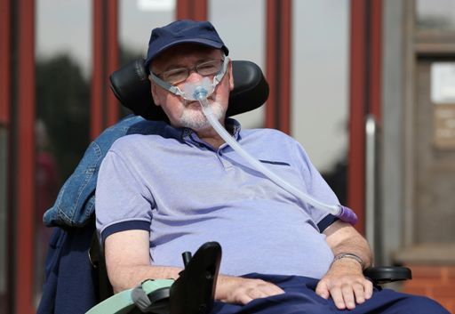 Terminally ill man wins legal challenge for a 'peaceful and dignified' death
