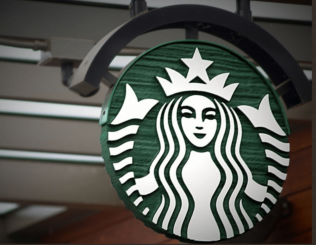 Fight over starbucks mermaid logo revived in europe general court revived claims by starbucks tuesday against a coffeehouse whose musical note signage is accused of infringing the iconic mermaid logo biocorpaavc Image collections