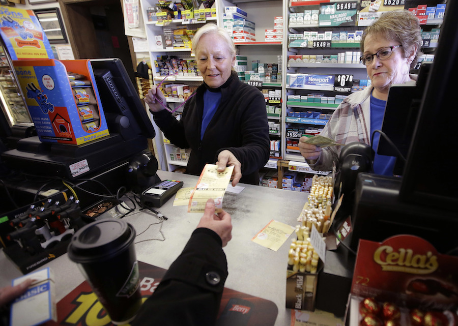 The lady who won $560 million lottery says she made a mistake