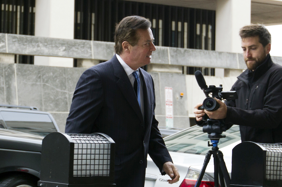 Ex-Trump top aide Manafort pleads not guilty