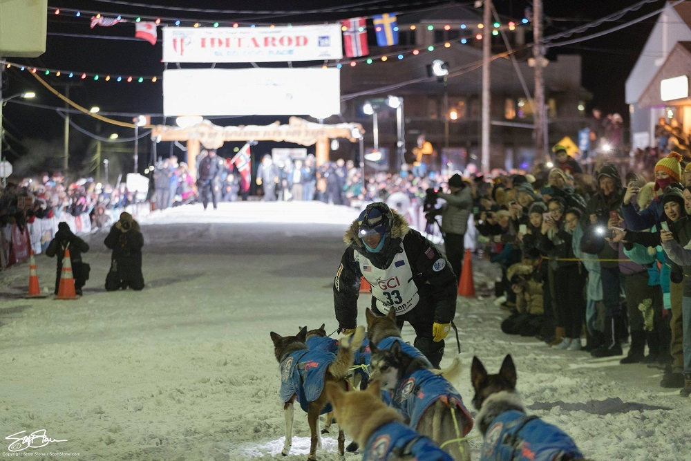 Norwegian claims glory in Alaska's gruelling sled dog race