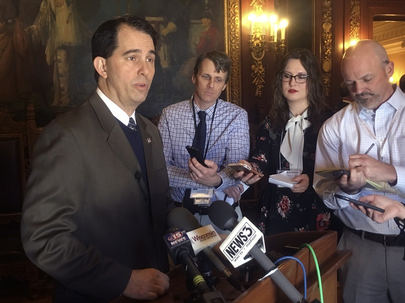 Court orders Walker to call special elections in vacant state districts