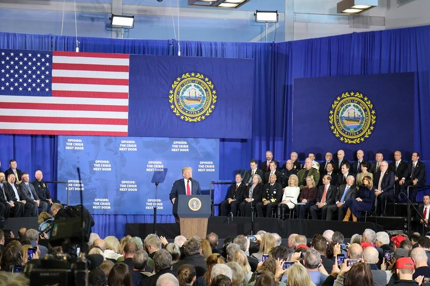 Death penalty part of Trump opioid plan