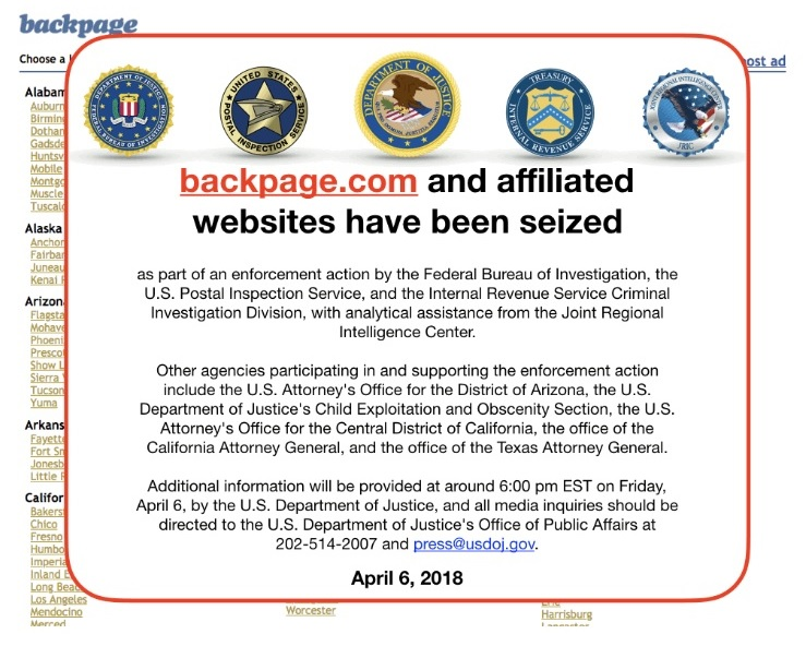 Backpage CEO pleads guilty, agrees to cooperate in prosecution against site's founders