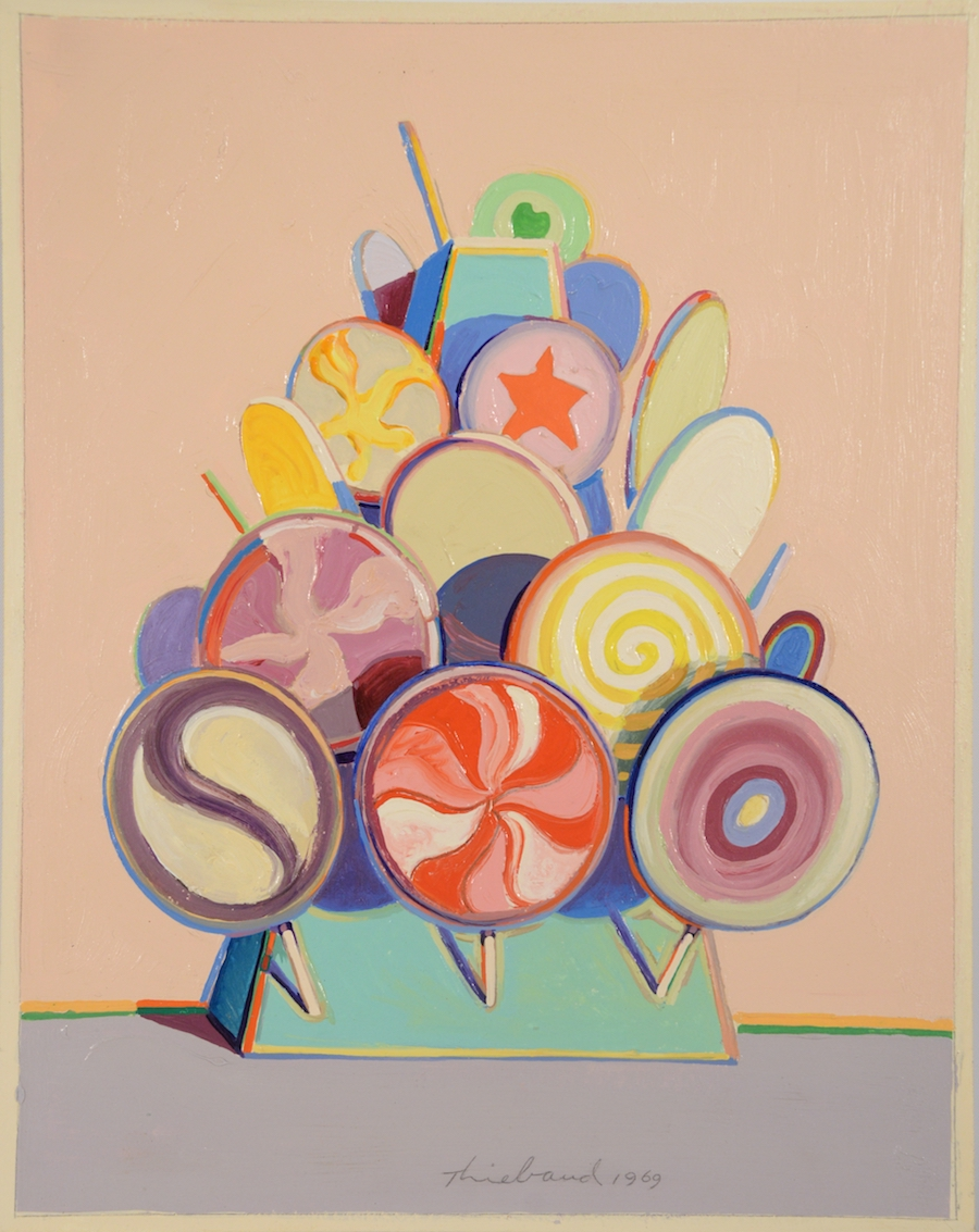 Auction of Thiebaud 'Lollipop Tree' Called a Forgery