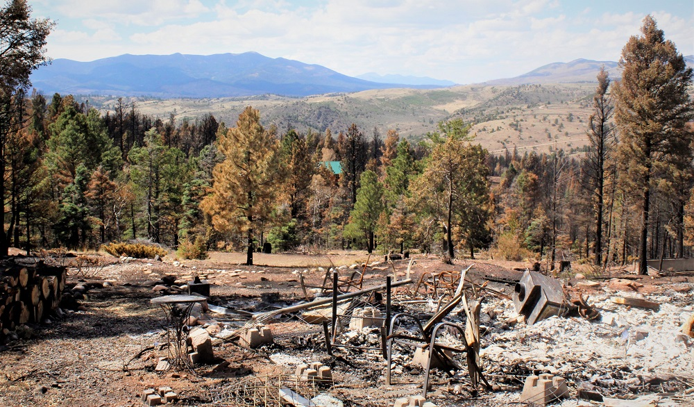 Veterans Help Clean Up Colorado Town After Historic Wildfire