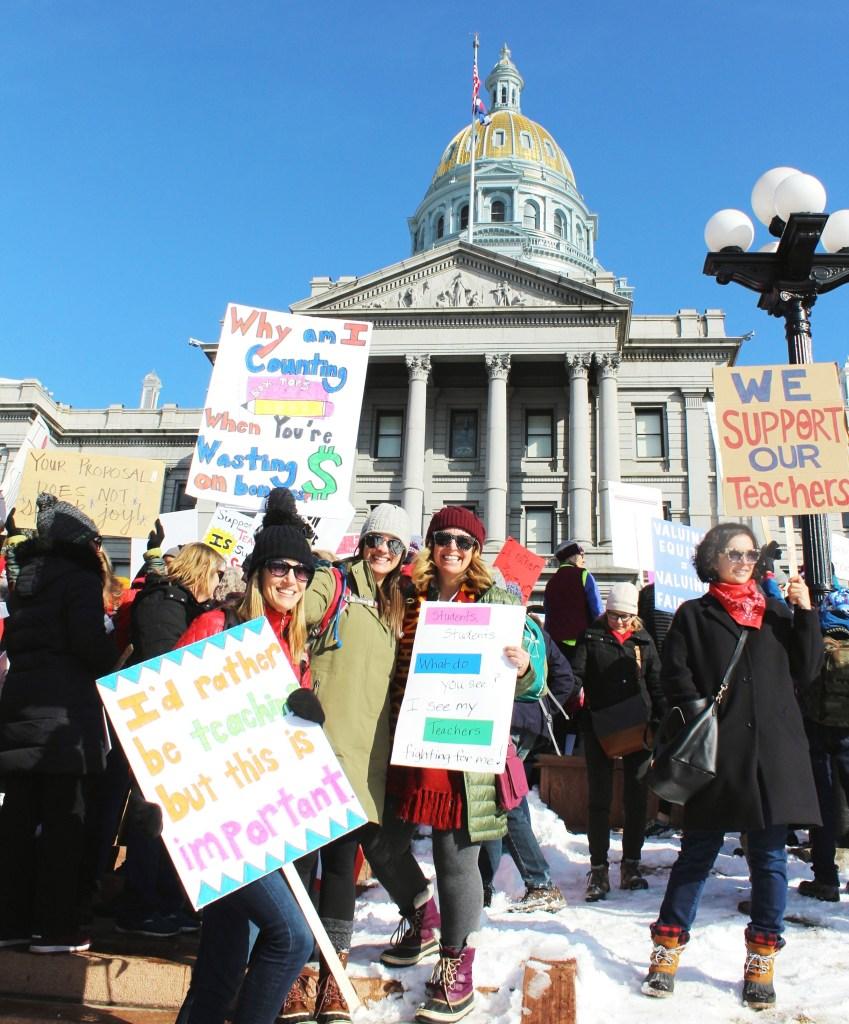 Parents Sue Denver Public Schools Over Strike