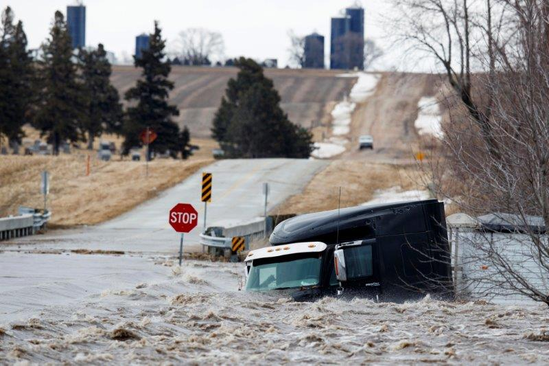 Late Winter Storm Brings Floods To Upper Midwest