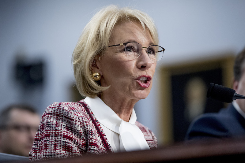 Devos And Tax Credit Vouchers Arizona >> A Voucher By Any Other Name Dems Roast Devos On Tax Credits