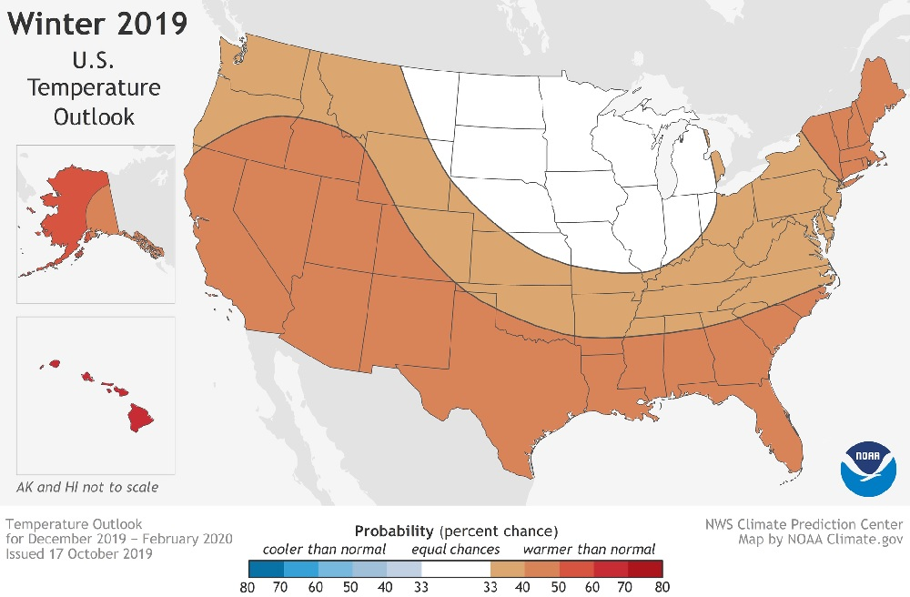 Feds Predict Warmer, Drier Winter for California & Much of US