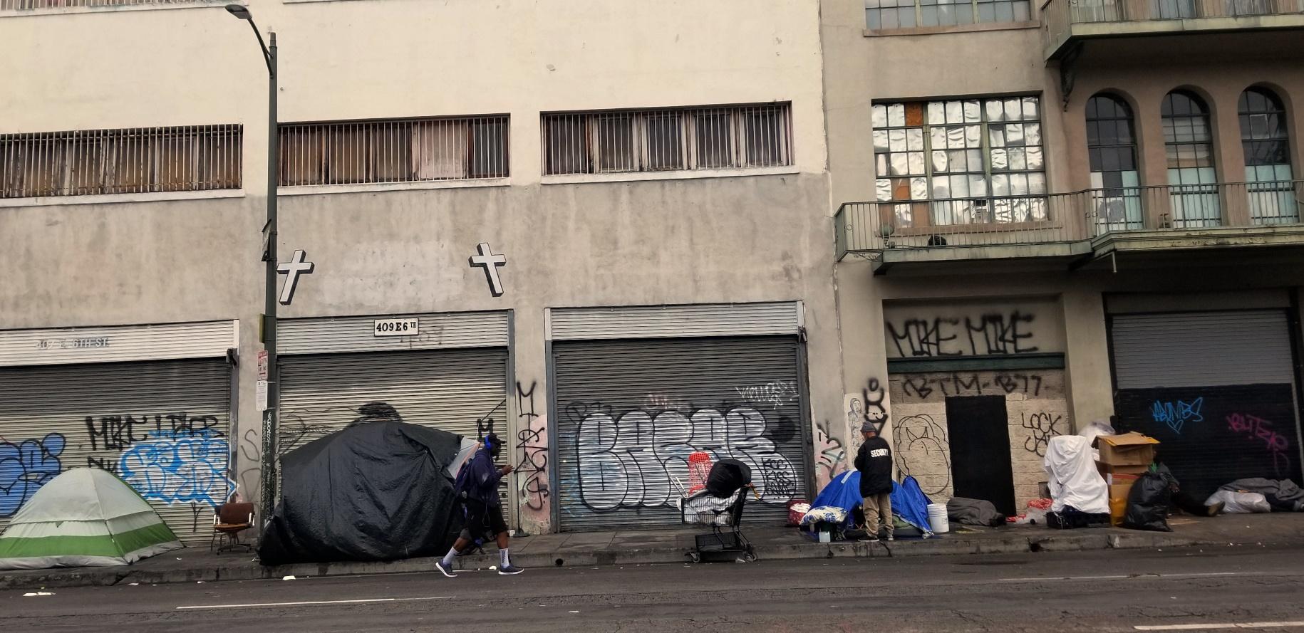 La Ready To Begin Talks To Settle Homeless Lawsuit