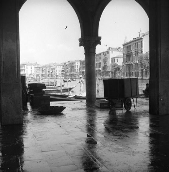 Starting the work day in Venice (Walt Girdner photo)