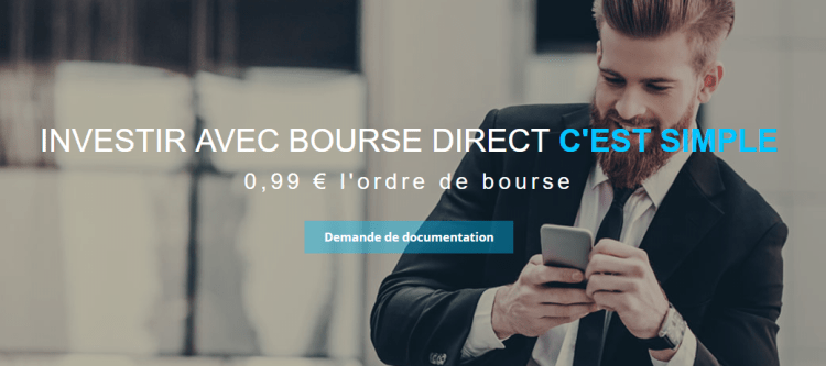 bourse direct courtier en bourse