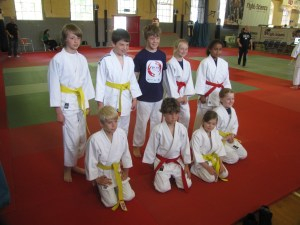 Portsmouth Judo team