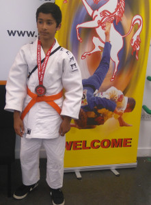 Azhar Baree, medallist at 2015 Kent International