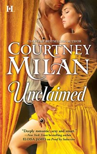 book cover for unveiled