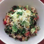 Mexican Rice and Quinoa Salad