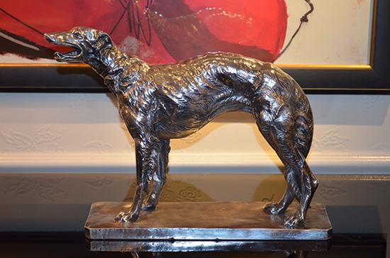 Dog Bronze Accessory