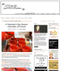 Romantic Valentines entertaining