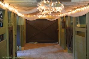 barn lighting, barn wedding