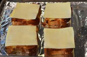 Cheese on Brioche