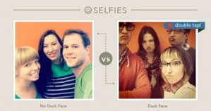 Duck face, how to get more likes on instagram