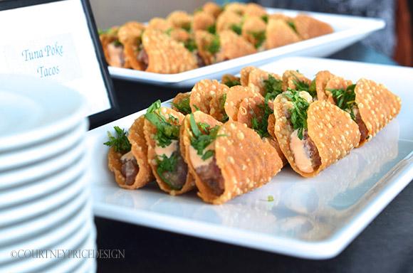 tuna tacos, Food Presentation Pointers on www.CourtneyPrice.com