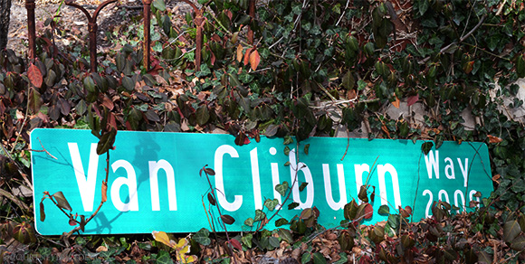 Van Cliburn way on www.CourtneyPrice.com