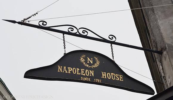 The Napoleon House, on www.CourtneyPrice.com
