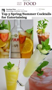 CourtneyPrice.com is mixing up cocktails over at Huffington Post