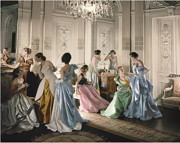 CharlesJamesBallGowns,CecilBeaton,1948 on www.CourtneyPrice.com
